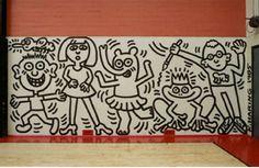 keith haring 1985 mural