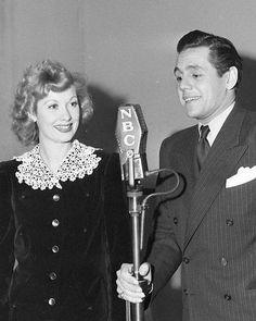 Lucy & Desi on the Radio 1940s
