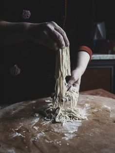 Making pasta by Gunel Farhadli