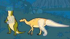 Iguanodon - Le Dictionnaire sur les dinosaures - Dessin animé éducatif.mp4 Reptiles, Anime, Moose Art, Mai, Films, Cartoon, Songs, Bricolage, Amphibians