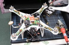 DJI Phantom dissection Dji Phantom 2, Drones