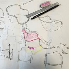 Story of IKEA PS see-through sofa: first sketch - IKEA Today