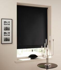 Blackout Blinds for Home Decoration. I like the ones from IKEA they look a bit like this...