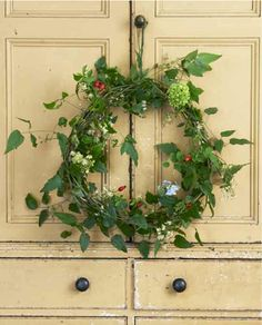 ivy wreath...