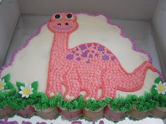 Dinosaur Cupcake Cake Dinosaur Cupcake Cake Dinosaur Cupcake Cake Walmart Dinosaur Cupcake Decoratio E E B Girl Dinosaur Birthday, Birthday Cake Girls, Dinosaur Party, Birthday Ideas, 3rd Birthday, Birthday Cakes, Birthday Recipes, Dinosaur Cupcake Cake, Dino Cake