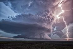 Epic Lightning Storm by Roger Hill on 500px