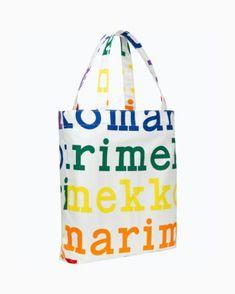 Laukut –Tervetuloa ostoksille - Marimekko Marimekko, Make A Donation, People Around The World, Cotton Canvas, Shopping Bag, Reusable Tote Bags, Unisex, Logos, Helsinki