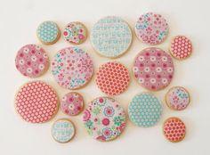 Biscoitos Postreadicción decorados, cupcakes e pops: Bolinhos