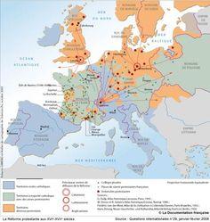 La Réforme protestante aux XVIe-XVIIe siècles