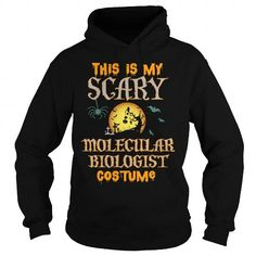 Cool and Awesome MOLECULAR BIOLOGIST  SCARY COSTUME Shirt Hoodie