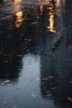 dreary, rainy autumn day