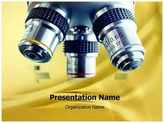 Laboratory Microscope PowerPoint Presentation Template is one of the best…