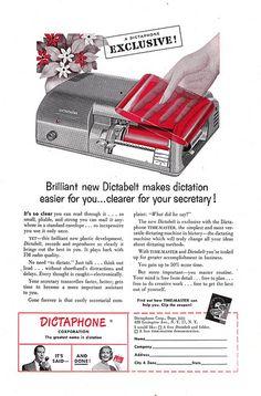 Dictabelt (1950s).