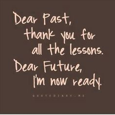 Dear Past..