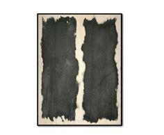 Terre di confine 4 2008 Stele cm 60x80  Ceramica - Mix di terre raccolte e refrattari.  Cottura e fiammature effettuate a cielo aperto. By Giovanni Maffucci