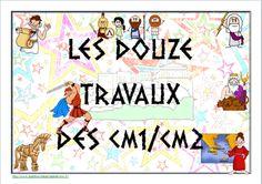 "thème mythologie : défi ""les 12 travaux des CM"" School Organisation, Cycle 3, Core French, Teachers Corner, French Teacher, School Life, Brain Gym, Fun Learning, Classroom Management"