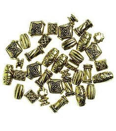 Darice Big Value - Antique Gold Beads 48/PK