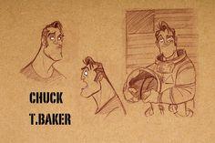 """PEDRO PEREZ, Ilustracion y diseño: Produccion: """"PLANET 51"""",Diseño de personajes."""