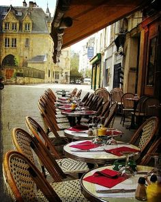 The Latin Quarter in Paris )