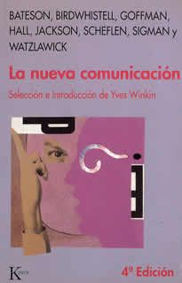 """La nueva comunicación de Yves Winkin editado por Kairós.  Vida cotidiana, psicoterapia, sociología, teatro humano, nada escapa a esta corriente tan importante de ideas agrupadas bajo el signo de """"la nueva comunicación"""". Este libro es la primera introducción que existe de esta corriente de las ciencias humanas. Indispensable, pues, tanto por su novedad como por su contenido."""