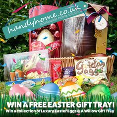 Win a Luxury Easter Gift Tray. Just follow this link: https://www.handyhome.co.uk/competitions