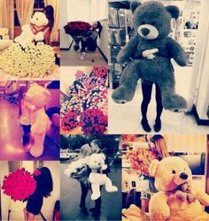 Ignore the couples and flowers. Can someone just buy me a giant teddy bear? Like anyone at anytime? Please?