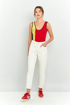 Fila Vivianna Colour Block Zip Bodysuit