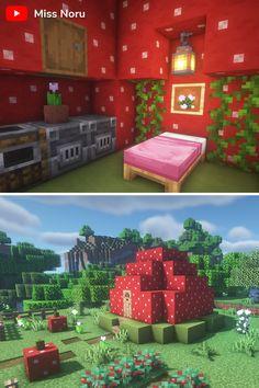 Minecraft House Plans, Minecraft Cottage, Easy Minecraft Houses, Minecraft House Tutorials, Minecraft Plans, Minecraft House Designs, Minecraft Decorations, Amazing Minecraft, Minecraft Bedroom