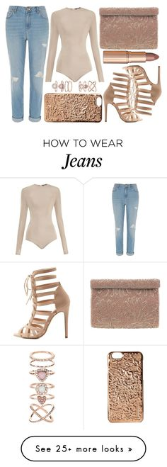 """""""street style"""" by sisaez on Polyvore featuring Balmain, River Island, Marc Jacobs, Accessorize, Nina, Charlotte Russe and Charlotte Tilbury"""