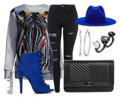 """Mood"" by visualxtasy on Polyvore featuring Akira Black Label, Topshop, Études, Chanel, Oscar de la Renta, Nine West, women's clothing, women's fashion, women and female"