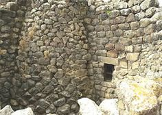 Archaeological area of Barumini in Sardinia consists a monumental quadrilobate complex dated back to the 15th century BC. and a village of huts developed in 12th century BC