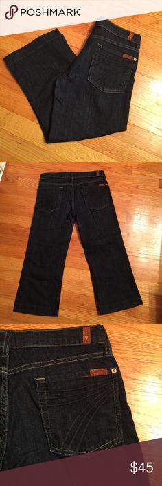 7 For All Mankind dojo Capri jeans 28 NWOT 7 for all mankind dojo Capri jeans 28 7 For All Mankind Jeans Ankle & Cropped