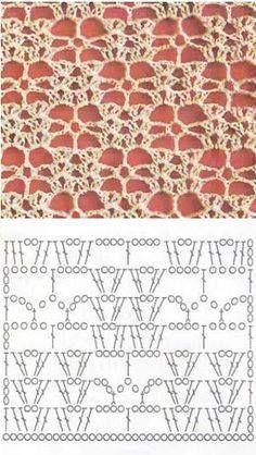 Tejido Crochet - Tejido Crochet megosztotta I fan di Io Uncinetto...