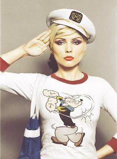 Debbie Harry, Little Debbie, Blondie, new wave, Popeye Blondie Debbie Harry, Hippie Look, New Wave, Rock N Roll, Dark Wave, Estilo Punk Rock, Grunge, Studio 54, Music Icon