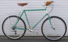 old fashioned racing bike