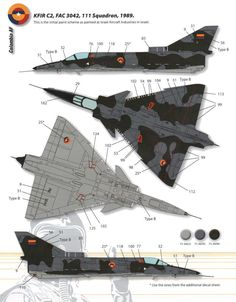 #ColorGuide - Kfir C2/C7 FAC Camouflage and Color Guide Added