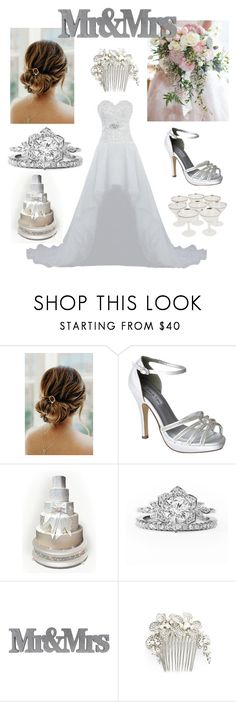 """""""I do"""" by jjgeorgia ❤ liked on Polyvore featuring Touch Ups and Wedding Belles New York"""