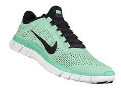 Nike running shoe Baby Blue