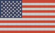 Ravelry: USA flag chart pattern by Annastasia Cruz