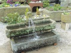 Image result for garden stone troughs