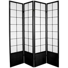 Oriental Furniture Unique Quality High End Design, 6-Feet Zen Japanese Rice Paper Privacy Screen Room Divider,... for only $201.00 You save: $198.00 (50%) + Free Shipping