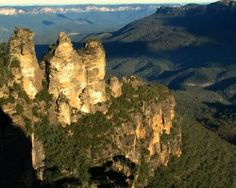 The Blue Mountains is a World Heritage wilderness that begins 60km west of Sydney Australia. The mountains are home to 400 different species of...