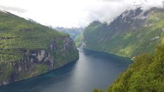 View over Geirangerfjorden,Norway