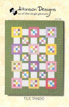 Tile Tango - Atkinson Designs Quilt Pattern