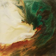 """Saatchi Online Artist: Lia Melia; Mixed Media, 2012, Painting """"Here There Be Dragons"""""""