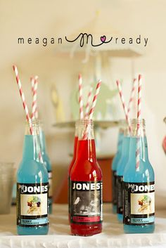 love these straws   Circus Clown 1st Birthday Party | | Kara's Party IdeasKara's Party Ideas