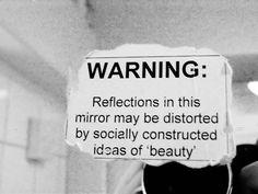 So sad. So true. What's beauty??