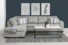 L-soffa Cooper Vänster L Sofas, New Living Room, Couch, Beige, Interior, Furniture, Denmark, Home Decor, Fashion