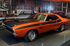 1970 Dodge Challenger T/A. Maintenance/restoration of old/vintage vehicles: the material for new cogs/casters/gears/pads could be cast polyamide which I (Cast polyamide) can produce. My contact: tatjana.alic14@gmail.com