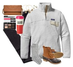 """""""I'd go back to December, turn around and make it all right"""" by lauren-hailey ❤ liked on Polyvore featuring H&M, Patagonia, L.L.Bean, Toast, Kate Spade, Alex and Ani, NARS Cosmetics and Tory Burch"""